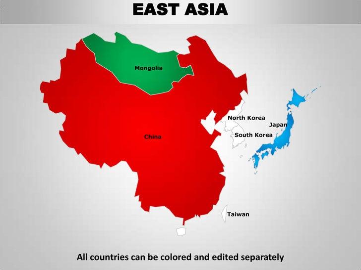 east asia mongolia north korea japan china