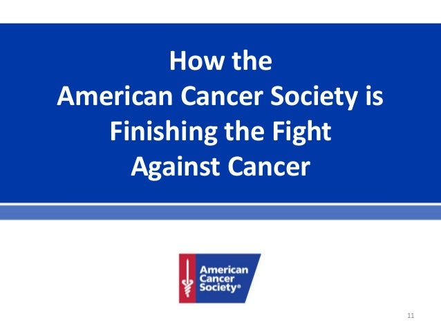 an overview of the american cancer society Find researchers and browse departments, publications, full-texts, contact details and general information related to american cancer society.