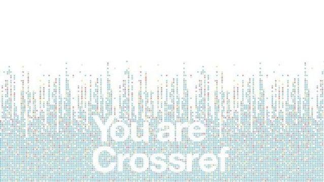 Crossref LIVE - East Coast