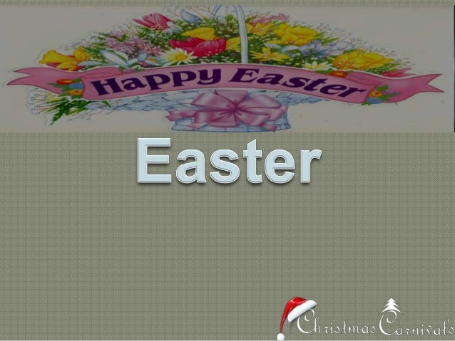 What is Easter?Easter is a very important and also the oldestChristian festival. Celebrated all over theworld, Easter Comm...