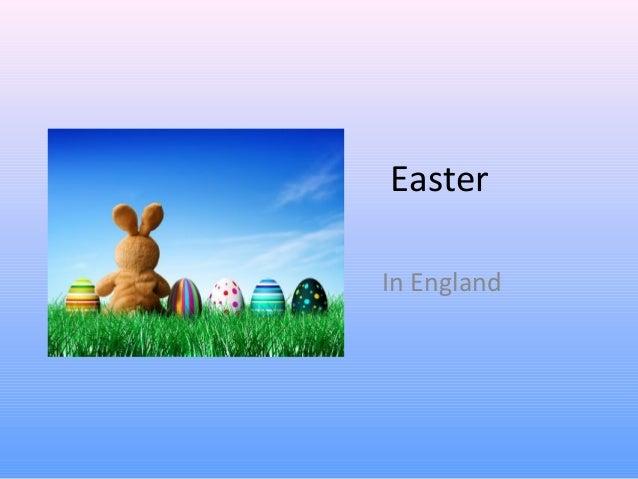 EasterIn England