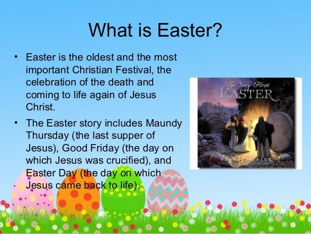 What is the date of easter