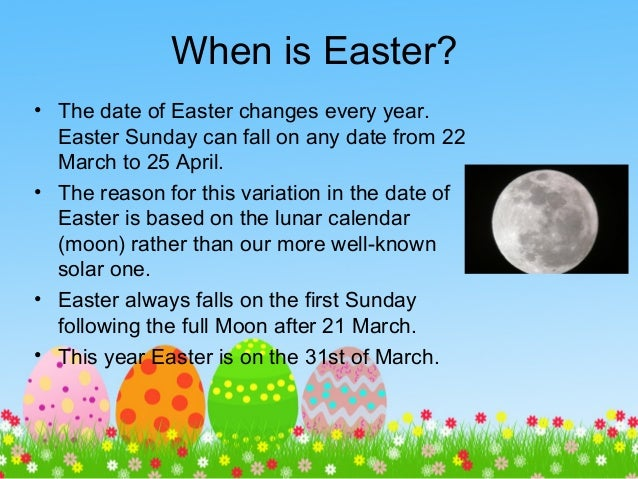 When Is Easr Photo Album - The Miracle of Easter