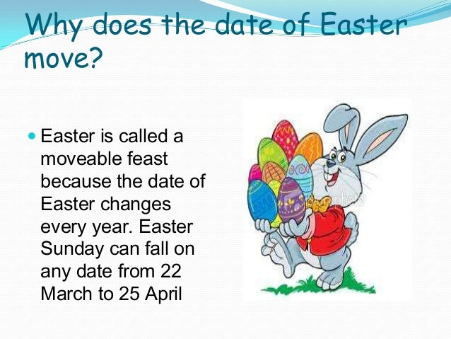 Why The Dates For Easter Change Each Year Eggciting Easter