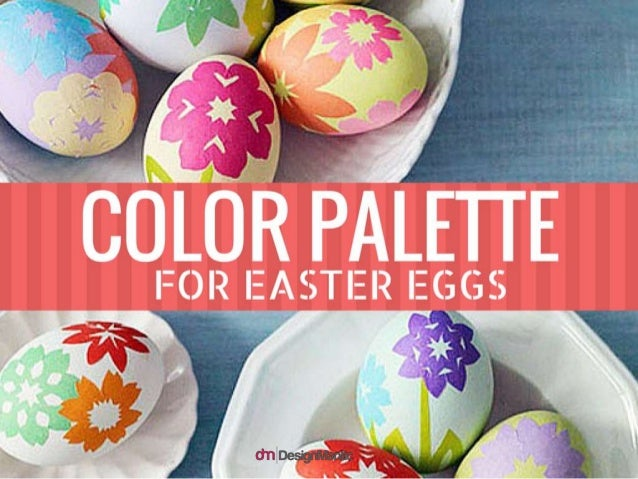Color Palette For Easter Eggs