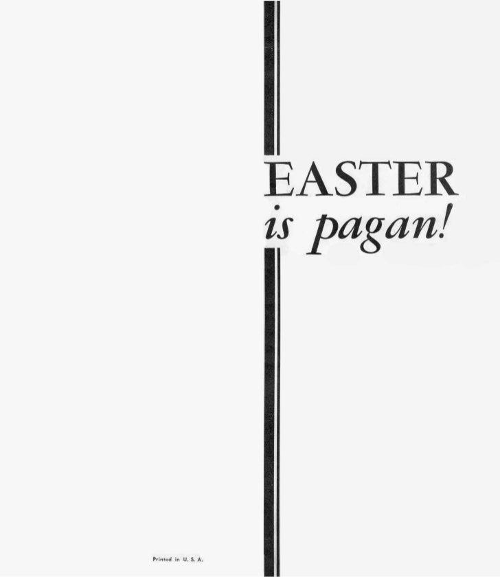 Easter is-pagan- prelim-1957-