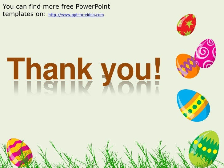 Free easter powerpoint template 4 you can find more free powerpoint templates toneelgroepblik Image collections