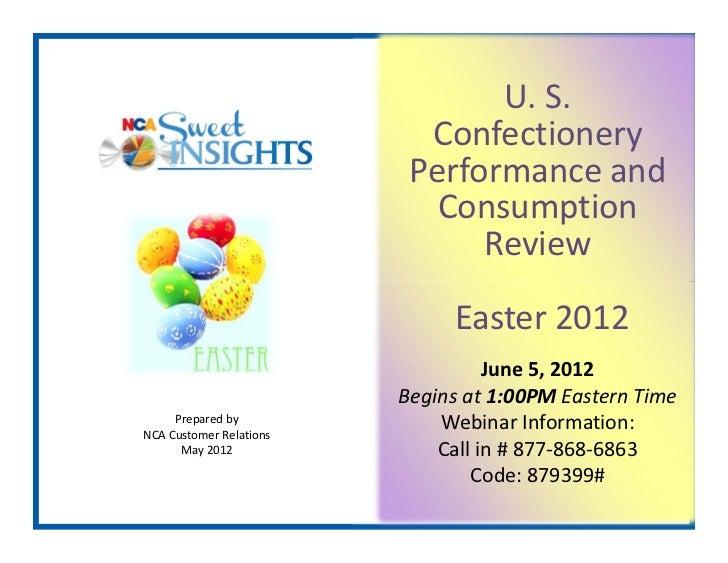 U.S.                           Confectionery                          Performanceand                            Consu...