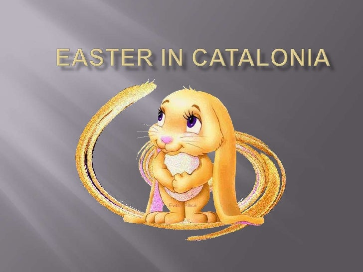 Easter in catalonia edu