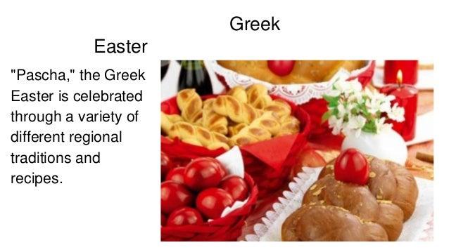 Easter In Greece Through Recipes
