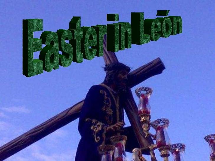 Easter in León