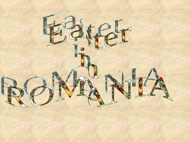 Orthodox Easter is a celebration in Romania; a religious holiday as well as a symbol of spring. At midnight, Romanians gat...