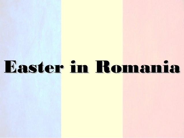Easter in RomaniaEaster in Romania