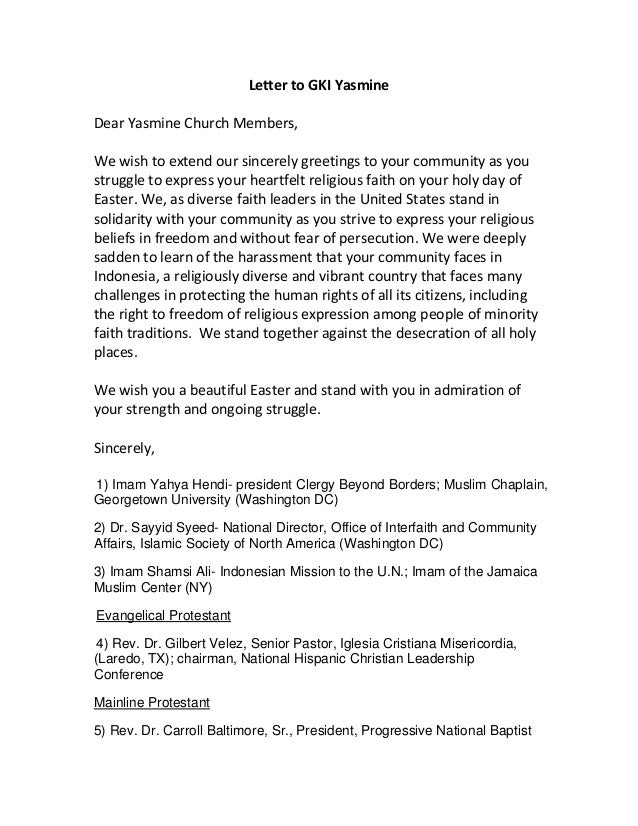 Easter letter 2013 for yasmine church members letter to gki yasminedear yasmine church memberswe wish to extend our sincerely greetings to altavistaventures Gallery