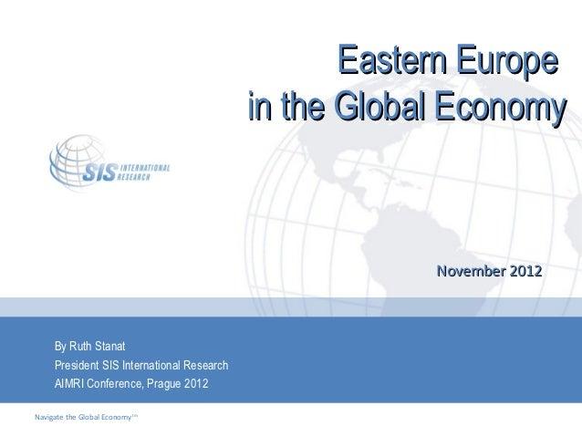 Eastern Europe                                            in the Global Economy                                           ...