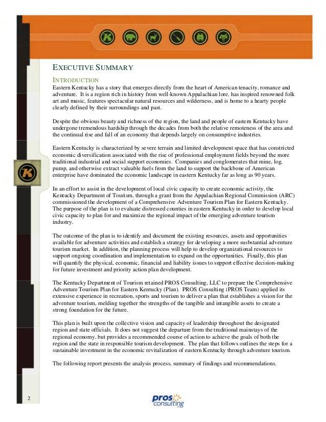 Eastern Kentucky Comprehensive Adventure Tourism Plan