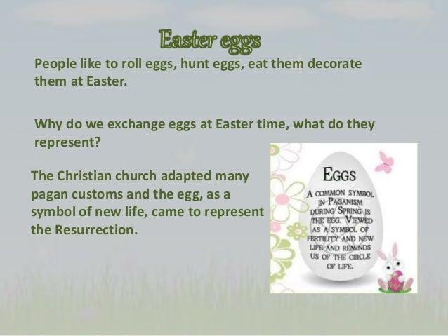 Easter ppt Easter Egg Representing Jesus