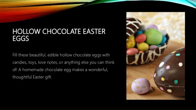 6 interesting easter egg recipes to try out this easter 5 hollow chocolate easter negle Gallery