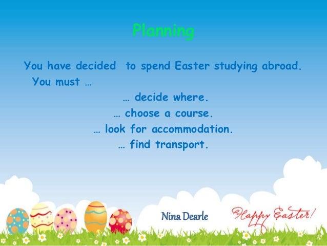 C1 Easter Study Trip Slide 2