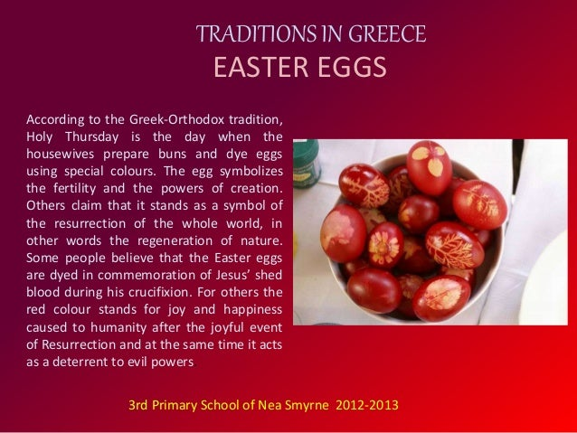 Easter Traditions In Greece