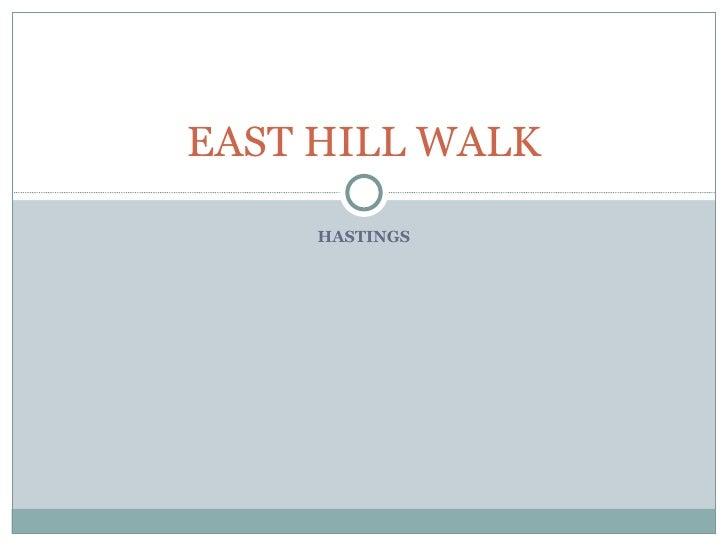 HASTINGS EAST HILL WALK