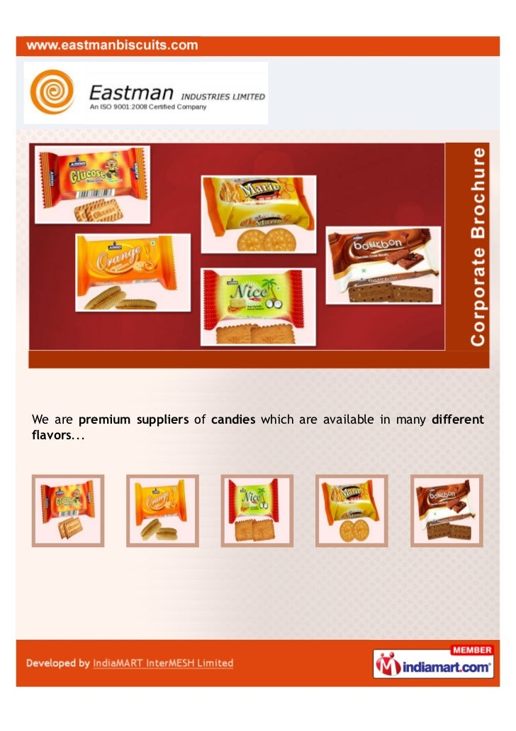 We are premium suppliers of candies which are available in many differentflavors...