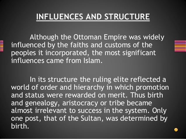 the reasons for the success of the ottoman empire What was the congress of vienna  since the sultan of the ottoman empire was a muslim,  outward success, internal failure.