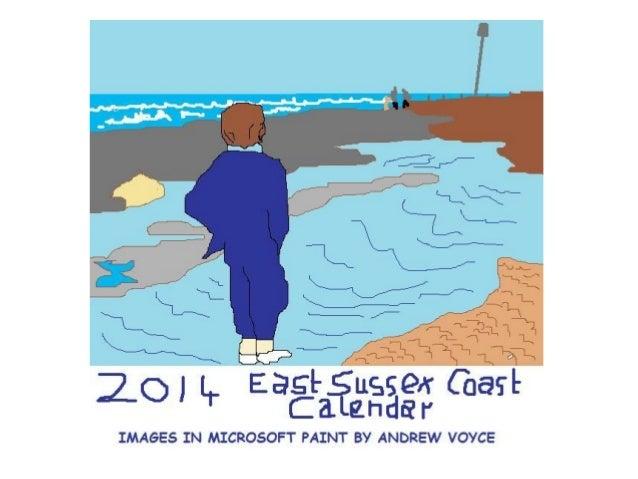 2014 East Sussex Coast Calendar