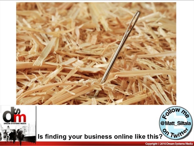 Is finding your business online like this?