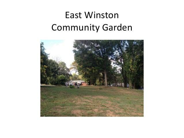 East Winston Community Garden