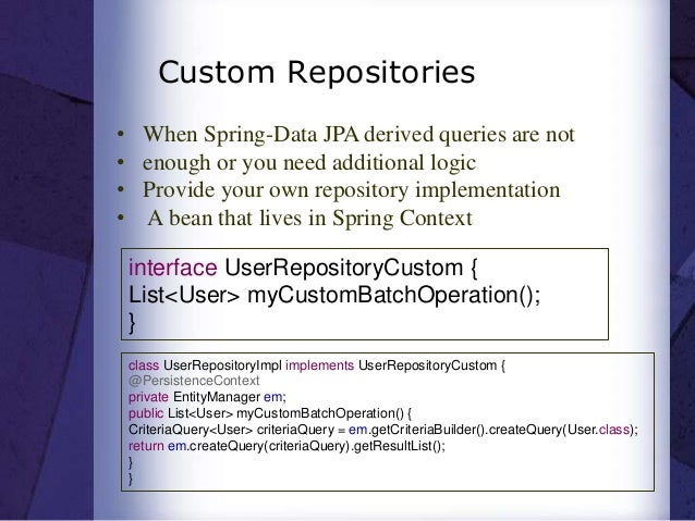 Easy data-with-spring-data-jpa