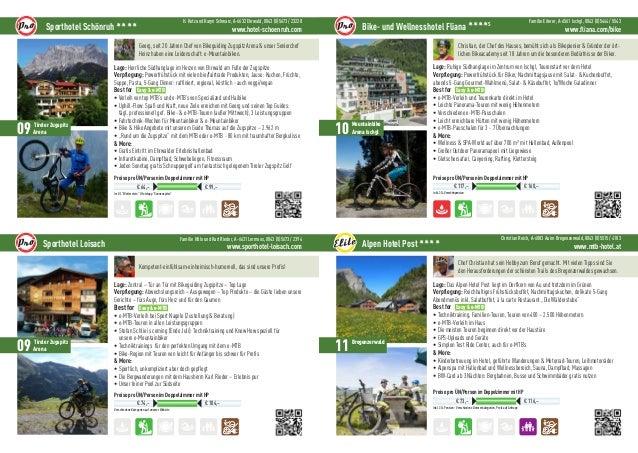 Easy und e MTB Urlaub: Regionen und Hotels