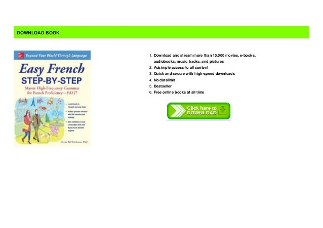 easy french step by step free download