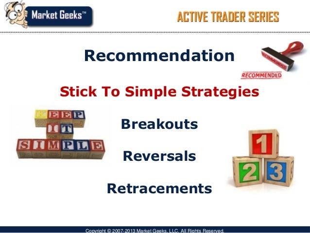 Easy swing trading strategies