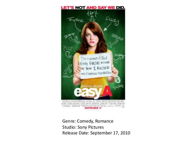 Genre: Comedy, Romance Studio: Sony Pictures Release Date: September 17, 2010