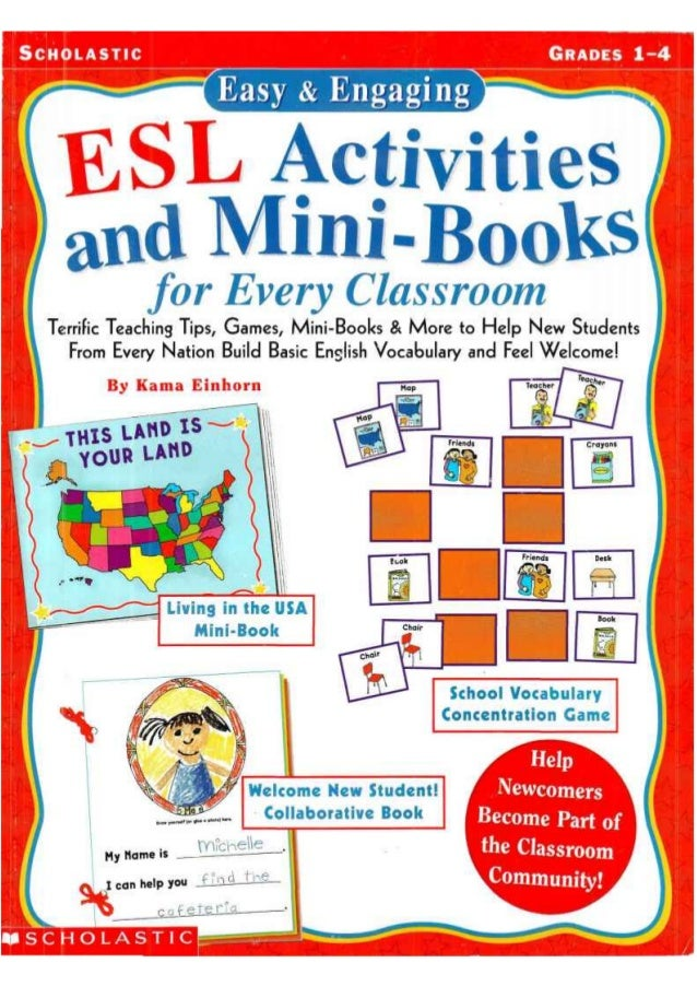 ESL Activities and Mini-Books