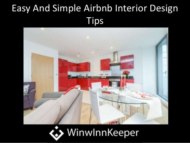 Easy And Simple Airbnb Interior Design Tips