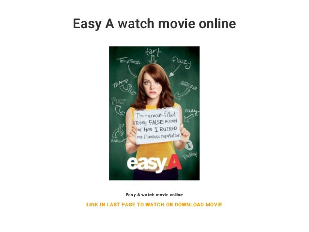 easy a full movie free online streaming