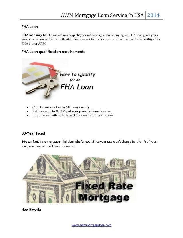 Easy AWM Mortgage Loan in usa Slide 2