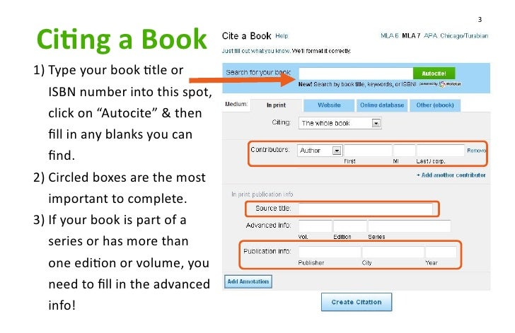 EasyBib Works Cited Page for MLA Citation Format Tutorial   YouTube