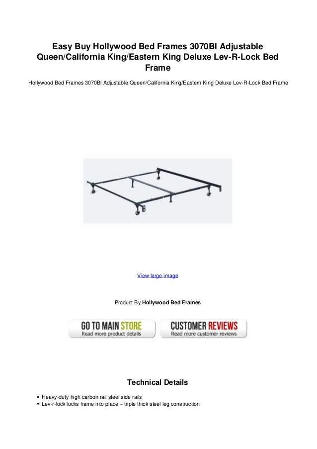 Easy buy hollywood bed frames 3070 bl adjustable queencalifornia king…