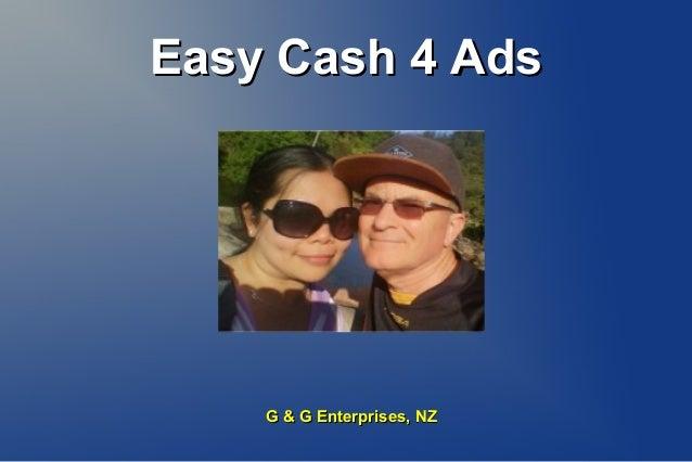 Easy Cash 4 AdsEasy Cash 4 Ads Geoff Dodd G & G Enterprises, NZG & G Enterprises, NZ