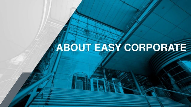 ABOUT EASY CORPORATE