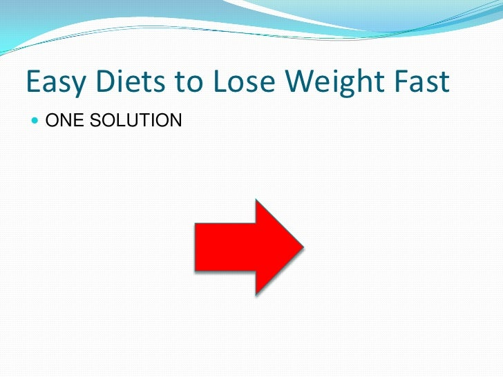 Effortless Ways to Lose Weight and Eat Healthy