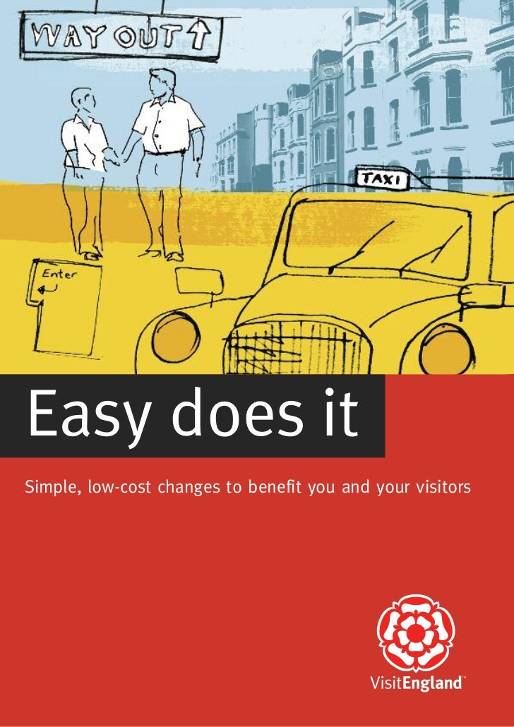 Easy does itSimple, low-cost changes to benefit you and your visitors