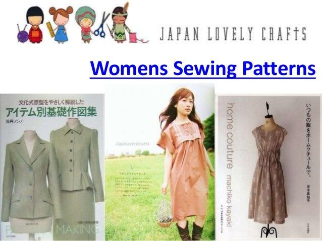 0719e5871c4 Womens Sewing Patterns ...