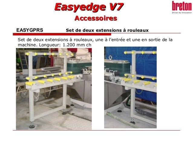 Easyedge V7Easyedge V7 EASYGPRS Set de deux extensions à rouleaux Set de deux extensions à rouleaux, une à l'entrée et une...