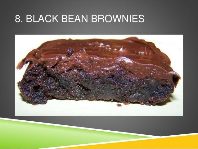 8. BLACK BEAN BROWNIES