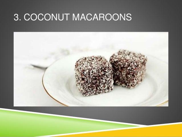 3. COCONUT MACAROONS