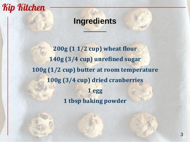 Easy Homemade Dried Cranberry Cookies Recipe From Scratch By Kipkitc